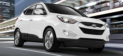 Hyundai Tucson (Click the image for a slideshow)