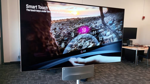 LG Two Sided TV