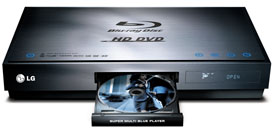 LG HD/Blu-ray player