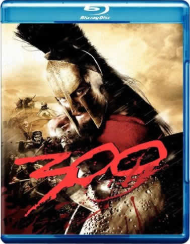 300 (note, this picture is of the original BD release)
