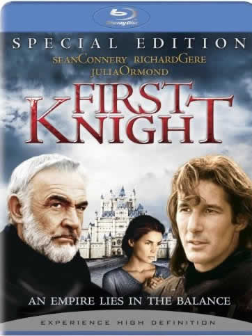 TechnoFile reviews Commando and First Knight on Blu-ray disc