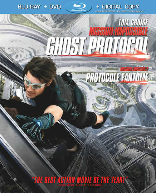 Mission: Impossible - Ghost Protocol on Blu-ray