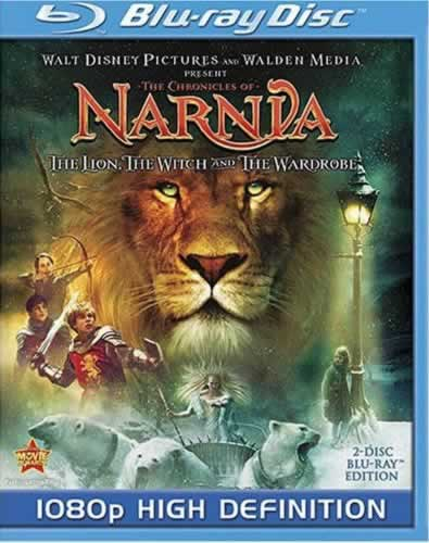 The Lion, the Witch and the Wardrobe on Blu-ray