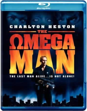 The Omega Man on Blu ray