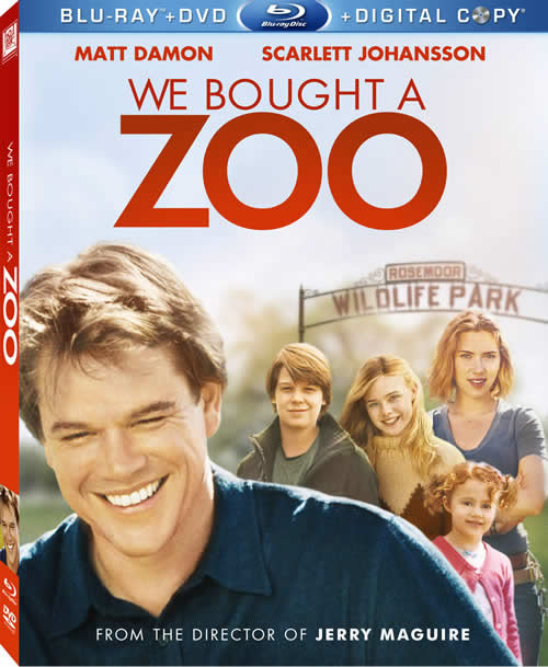 We Bought a Zoo on Blu-ray