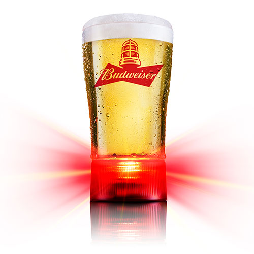 Bud Beer Glass