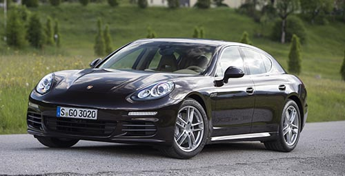 Porsche Panamera 4S - click to open a slideshow