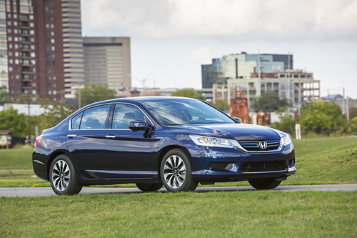 Honda Accord hybrid (Click the image to open a slideshow)
