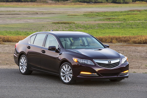Acura RLX Sport Hybrid (click here to open a slideshow)