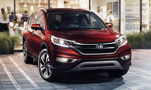 Honda CR-V (click to open a slideshow)