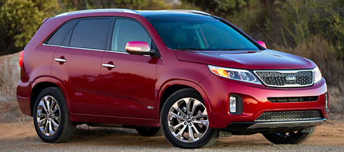 Kia Sorento (click the image to open a slideshow in a new window)