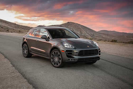 Porsche Macan Turbo (click here to open a slideshow)