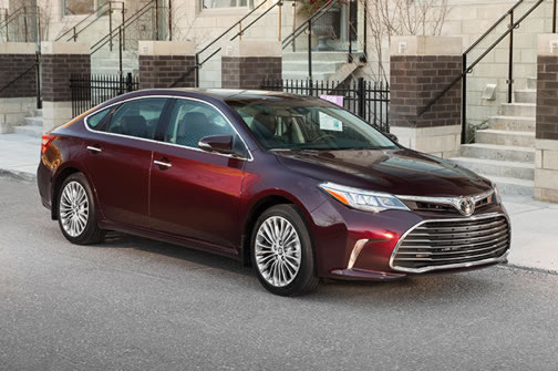 Toyota Avalon and Tundra - click for a slideshow