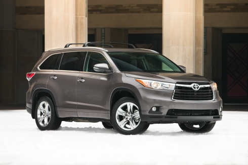 Toyota Highlander (click the image to open a slideshow in a new window)