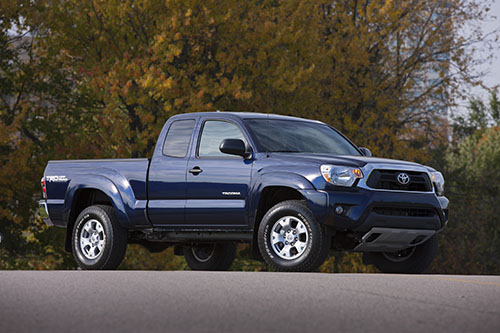 Toyota Tacoma (click on the image to open a slideswho in a new tab)