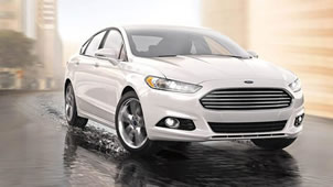 Ford Fusion Hybrid (click to open a slideshow)