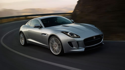 Jaguar F-Type Coupe (Click on the image to open a slideshow in a new tab or window)