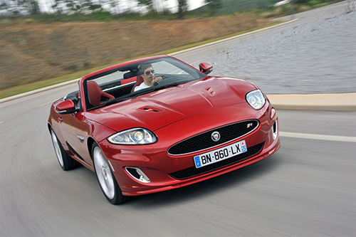 Jaguar XKR (click the picture on the left to open a slideshow)