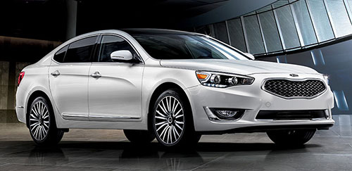 Kia Cadenza (click on image for a slide show)