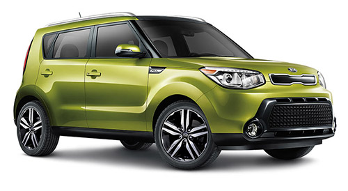Kia Soul (click the image to open a slideshow in a new window)