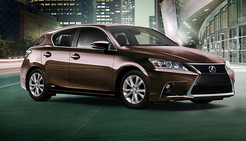 Lexus CT 200h (Click to open a slideshow in a new window)