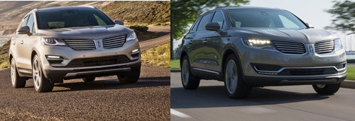 Lincoln MKC and MKX