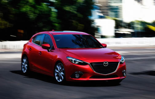 Mazda3 Sport (Click on the image to open a slideshow)