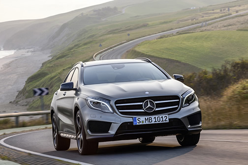 Mercedees-Benz GLA 240 4MATIC
