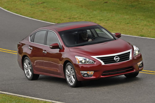 Nissan Altima (Click the image to open a slideshow in a new window)