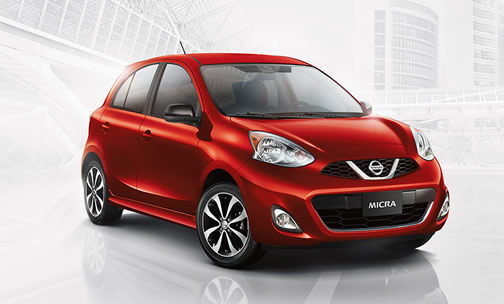 Nissan Micra (click here to open a slideshow in a new tab)