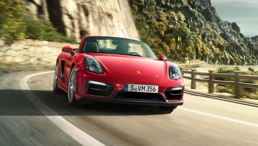 Boxster GTS - click for a slideshow