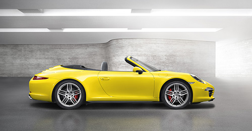 Porsche 911 4S Cabriolet (click on image to open a slide show)
