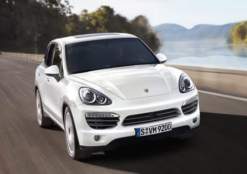 Porsche Cayenne Diesel (click for slideshow)