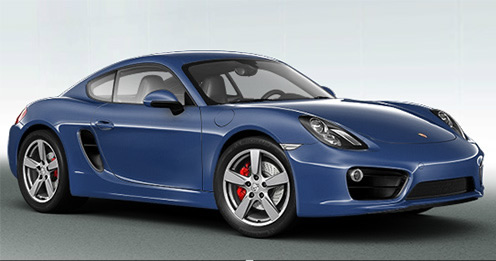 Porsche Cayman S (Click the image to open a slide show)