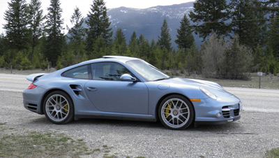 Porsche 911 Turbo S (click on image for larger version)