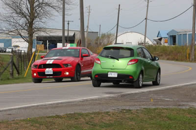 Ford Shelby meets Mazda2