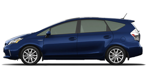technofile drives the 2014 toyota prius v and honda civic coupe. Black Bedroom Furniture Sets. Home Design Ideas