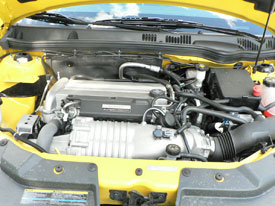 Maybe no Turbo'ed Ecotec due to space considerations in a Cobalt ...