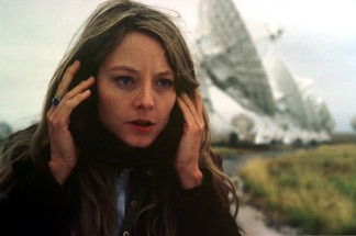 Jodie Foster and her really big radio antenna