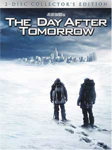 The Day After Tomorrow on DVD