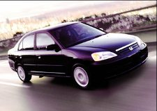 The 2001 Honda Civic Sedan