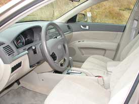Hyundai Sonata Interior Cool Specification