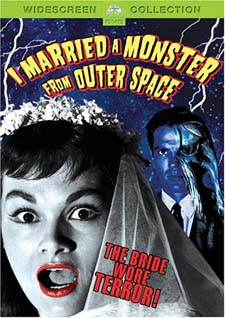 I Married a Monster from Outer Space on DVD