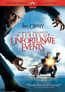 Lemony Snicket's A Series of Unfortunate Events on DVD