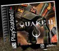 Quake II, for Playstation