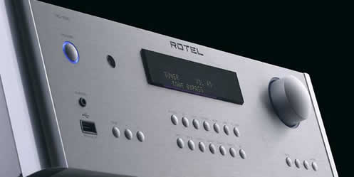 TechnoFile drives Rotel's RC-1590 and RB-1590 stereo components