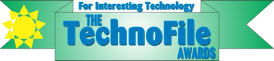 TechnoFile Awards Logo